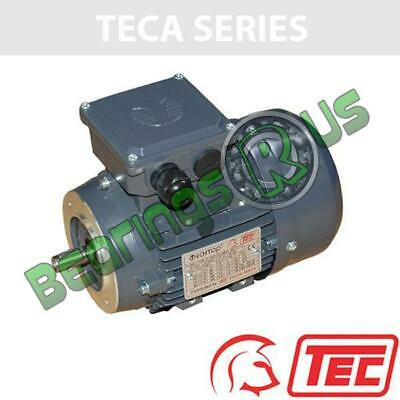 TEC IE2 Rated 3 Phase 2.2kw 2880rpm (2Pole) D90L Frame B14 Flange Mounted Electr