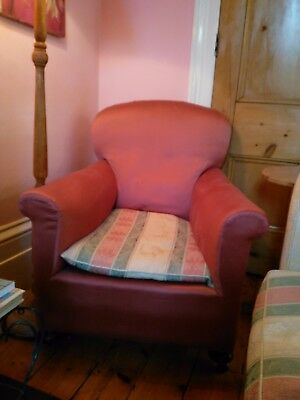 Pair of Antique Victorian armchairs; need seat repairs