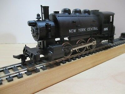 Ho Scale Rivarossi / Ahm 0-6-0 Saddletank  Decaled For N.y.c. (Nib) With Papers