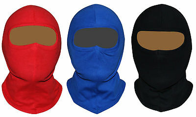 Balaclava Open Face Motorcycle Motorbike Helmet Soft Ski 100% Cotton One Size