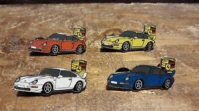 série de pin's Porsche 993 carrera RS / 25 exemplaires version luxe