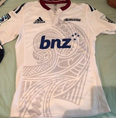AUCKLAND BLUES SUPER LEAGUE RUGBY JERSEY. NEW WITOUT TAGS  Size: M