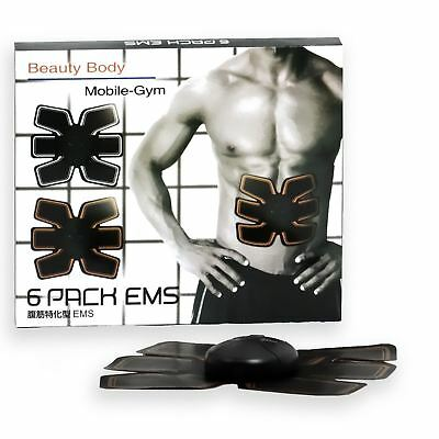 Magic Abdominal Muscle Trainer Smart Electric Pulse Body Building Fitness ABS