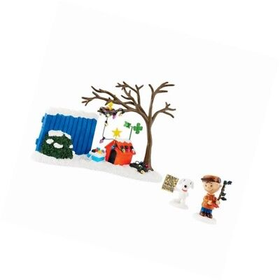 department 56 peanuts christmas true meaning figurine set of 3 - Department 56 Peanuts Christmas