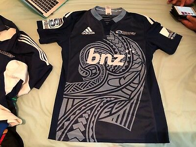 AUCKLAND BLUES  SUPER LEAGUE RUGBY JERSEY.  BNWT Size: M