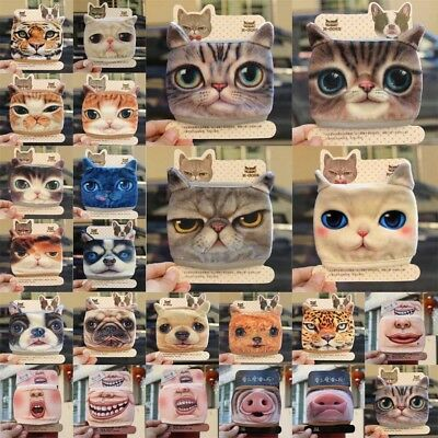 Cute Cartoon Anime Dog cat tiger Mouth-muffle Cotton Anti-Dust Face Mask