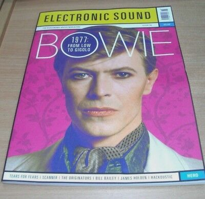 Electronic Sound magazine #36 2017 Bowie, The Originators, Tears for Fears, Hero