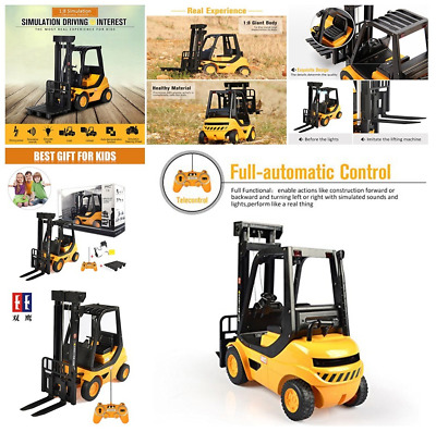 8 Channel Full Functional Professional Remote Control 1:8 Large Scale RC Forklif