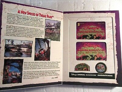 Disney Animal Kingdom Special Collector's Edition Commemorative Package - NEW