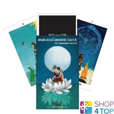 Sun And Moon Tarot Cards Deck Vanessa Decort Esoteric Us Games Systems New