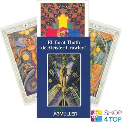Spanish Crowley Thoth Tarot Deck Cards Esoteric Telling Us Games Systems New