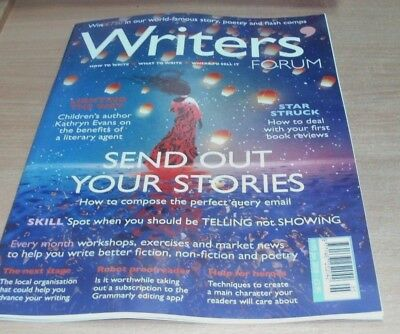 Writers' Forum magazine #195 JAN 2018 First Reviews, Literary Agent, Workshops &