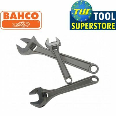 Bahco Triple Set 8070 6in 8071 8in 8072 10in 3pc Adjustable Spanner Wrench Kit