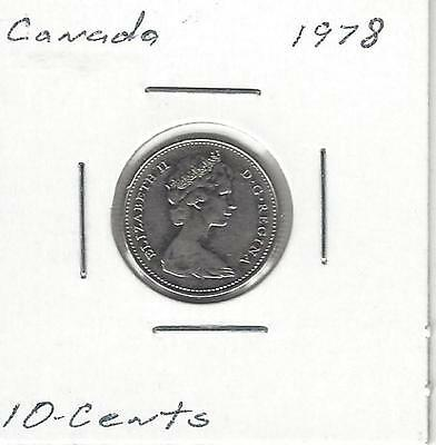 1978, Canada 10 Cents