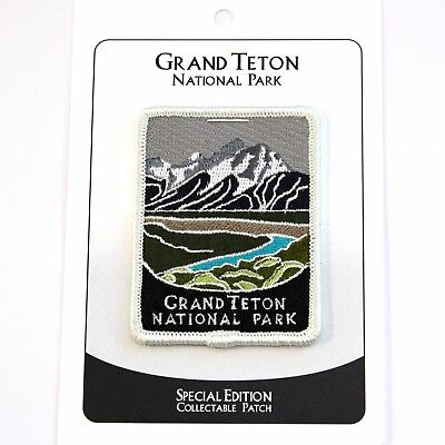 Grand Teton National Park Souvenir Patch Traveler Series Iron-on Wyoming