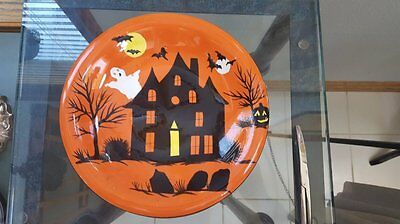 "Sakura 8"" Haunted Hideaway 8"" Plates  Adults/Children Dishwasher and Microwave"