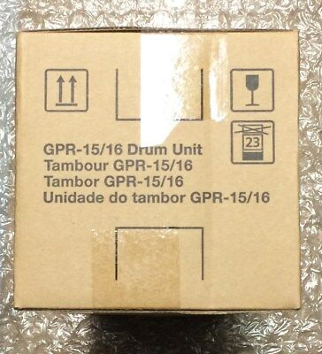 CANON OEM GPR-15/16 Drum new factory sealed Genuine product and top quality.