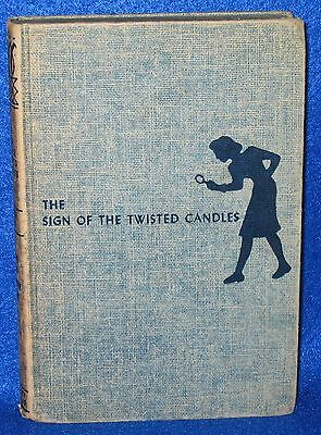 Nancy Drew - The Sign Of The Twisted Candles 1933 By Carolyn Keene