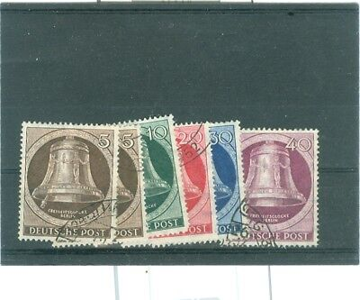 Briefmarken, Berlin, Glocke links gest.