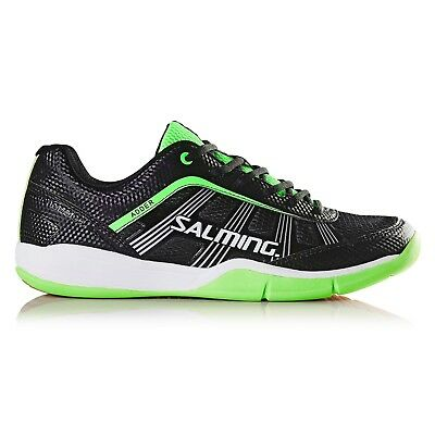 Salming Mens Adder Indoor Court Shoes - Black/Green