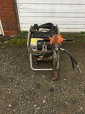Belle MiDI 20-140 Hydraulic Breaker Honda GX270 Engine With Point