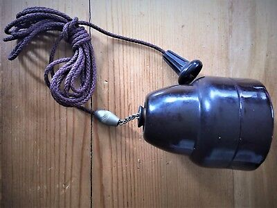 Vintage Tucker Positive Action Ceiling Switch