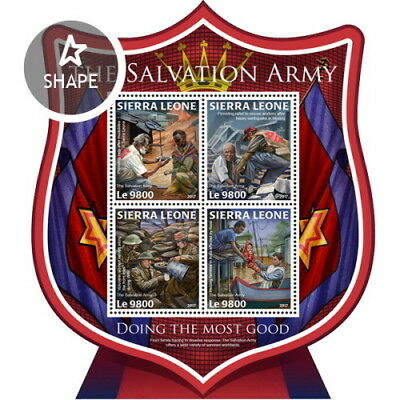 Z08 IMPERF SRL171019a SIERRA LEONE 2017 The Salvation Army MNH ** Postfrisch
