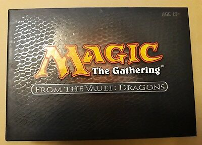 MTG Magic The Gathering From the Vaults: Dragons - New Box Set - unopened