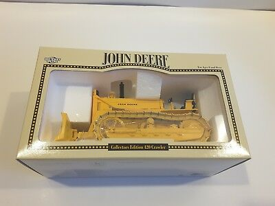 John Deere Collectors Edition 420 Crawler 1/16 Scale FREE SHIPPING