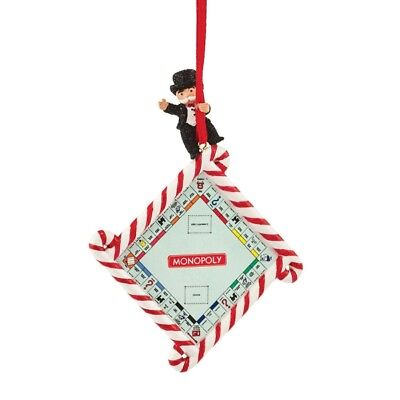Enesco Department 56 Hasbro Monopoly Game Board Ornament Figurine New