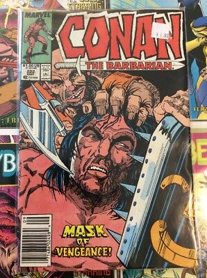 Conan the Barbarian #222 (Sep 1989, Marvel)
