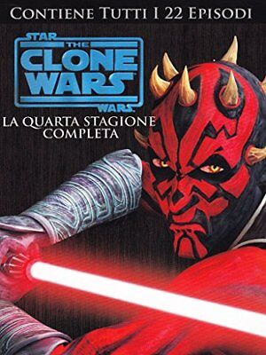 DVD STAR WARS THE CLONE WARS STAGIONE 04 varie Warner Home Video 1.78:1 Nuovo