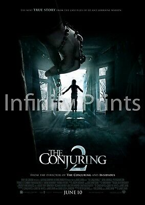 The Conjuring 2 Movie Film Poster A2 A3 A4