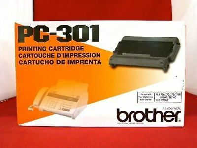 Brother, PC-301, Printing Cartridge, Genuine  Free Shipping !