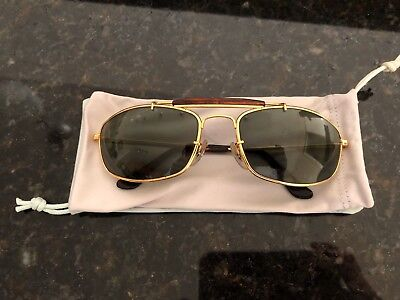Vintage Ray Ban W1709 1994-1996 Olympic Games Aviator Sunglasses