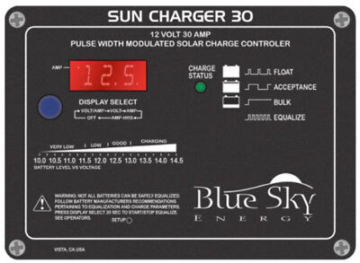 Blue Sky Sc30 Energy Sun Charger 30A 12V Solar Charge Controller With Display
