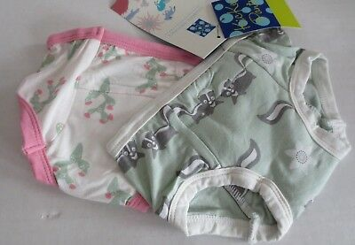 Kickee Pants Training Pants Set - 2T-3T - Skunk/cactus