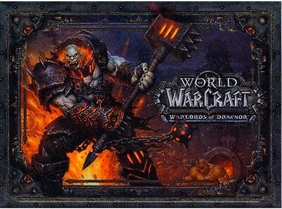 World of Warcraft Warlords of Draenor Mousepad EU NEW collectors edition mauspad