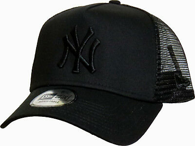 Nero//Nero NEW Era Pulire CAMIONISTA Cap NEW York Yankees
