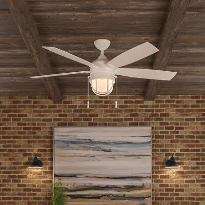5 blade outdoor indoor 52 lighthouse ceiling fan patio beach caged 5 blade outdoor indoor 52 lighthouse ceiling fan patio beach caged globe light aloadofball Image collections