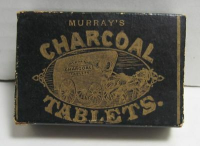 Murray`s Charcoal Tablets for Dyspepsia Box not Tin Pharmaceutical Medical