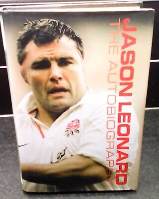 Signed Autobiography of Jason Leonard -Rugby Star of the 90's