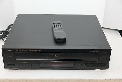 Teac PD-D2410 5-Disc CD Changer with remote Read!