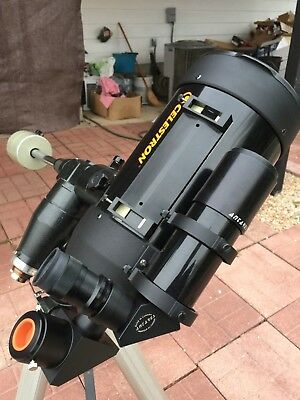 Celestron C6-A 6 Inch SCT Telescope with Starbright XLT Coatings