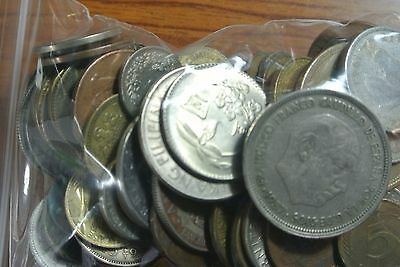 50 FOREIGN WORLD COINS No Duplicates Great Starter set wholesale lot collection
