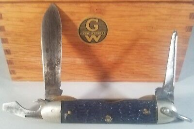 Nice Vintage USA CAMILLUS CUB SCOUT BSA Official Camping Pocket Knife