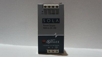 Sola Sdn5-24-100 Power Supply Tested Used