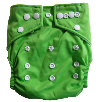 NEW Baby Reusable Stay Dry Bamboo Cloth Nappy - Green
