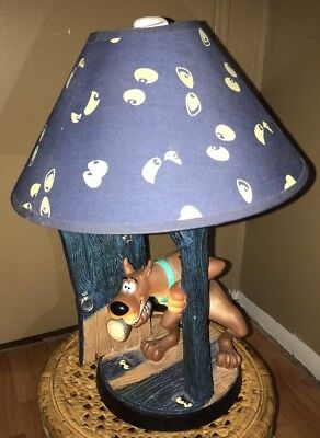 2000 Scooby Doo Table Lamp Designed Exclusively For The Warner Bros Store Rare