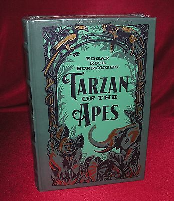 Tarzan of the Apes The First Three Novels By Edgar Rice Burroughs Gilded Leather